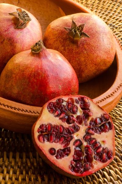 Pomegranates by flowerpower59