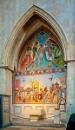 Fresco - The North Transept by JJGEE