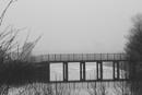 misty morning bridge reflection by iannidan