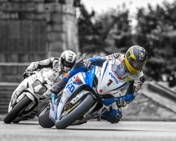 Guy Martin On a Charge by photodoktor