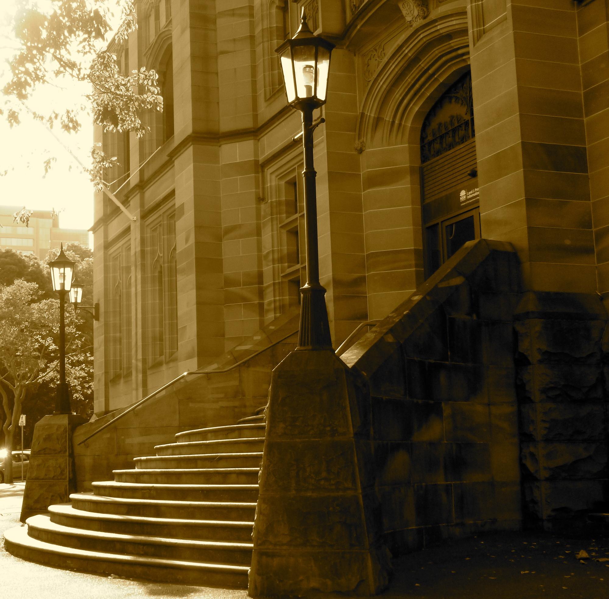 Sydney stairs