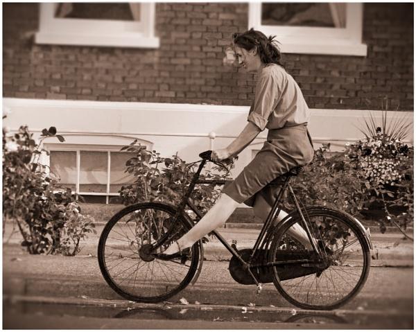 Fun On Two Wheels...1940's