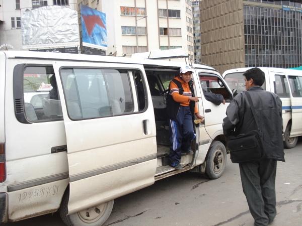 Local bus, La Paz, Bolivia by MichelleMM