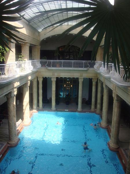 Gellert Baths, Budapest by MichelleMM