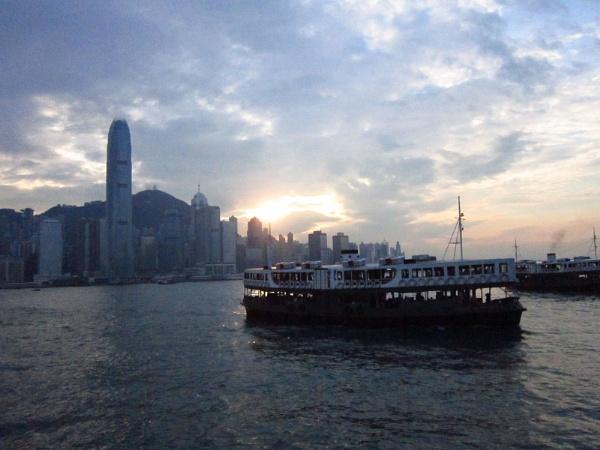 Hong Kong Skyline by hannah4eva