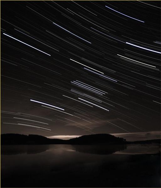 A night sky oddyssey by digitall