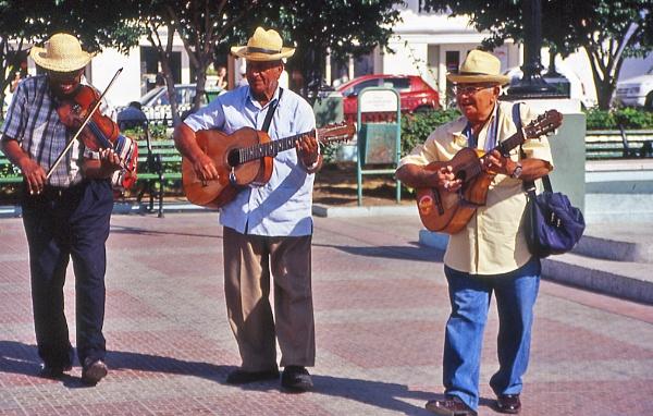 Street musicians, Santiago, Cuba by TonyDy