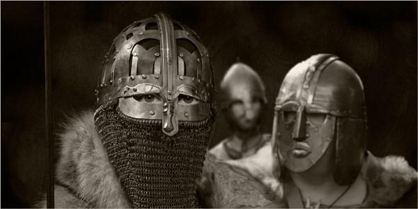 Saxon Warriors by Dixxipix