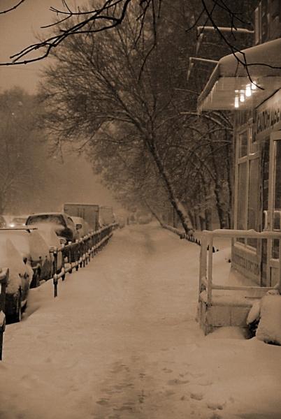 Snow entered ... by Oleg_Lobzin