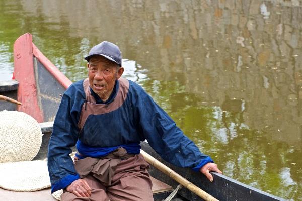 Happy retired fisher III by Newdawei