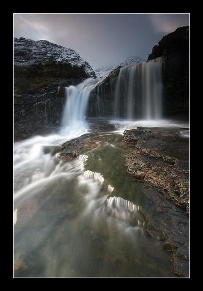 Black Cuillin Falls by jeanie