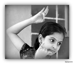 Bharatanatyam...'Krishna' pose
