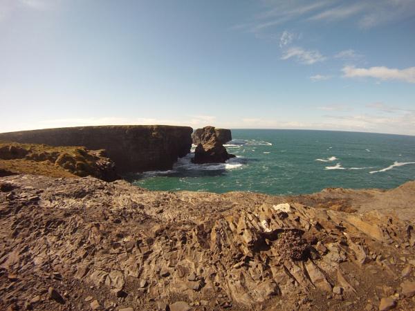 Rocky Cliffy Coast 2D by AnthonyConlon