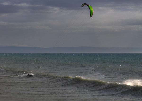 Kitesurf 1 - HDR by yoctox