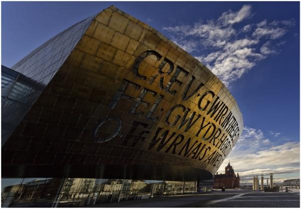 The Millennium Centre, Cardiff Bay. by Rhedwr