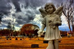 Grey Sky Angel