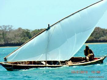 Old Kenya - Just Sailing By