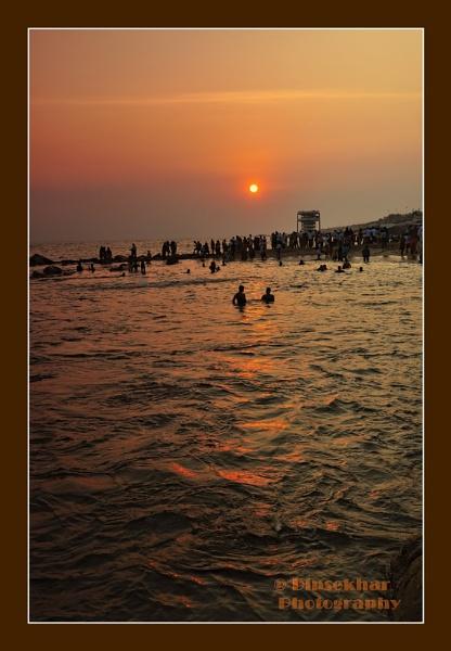 Sunset at Arabian Sea by dipsekhar