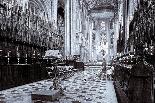 alter Through the Choir Stalls by Blakey_Boy