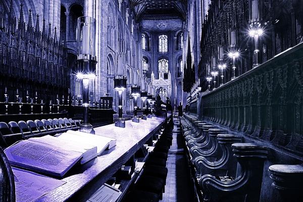 Peterborough Choir Stalls by Blakey_Boy