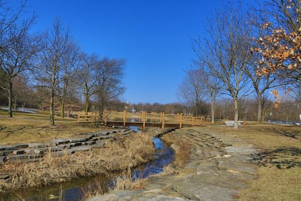 Bridge over Creek by ShotfromaCanon