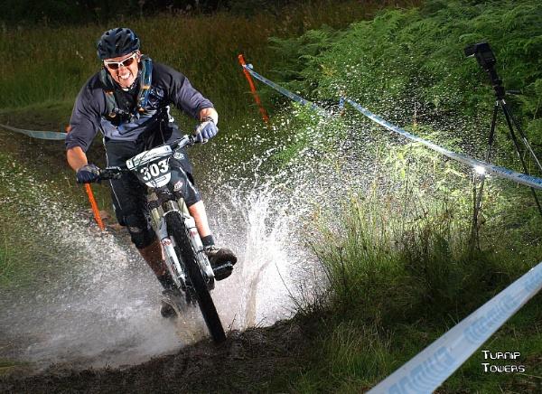 Enduro mountain biker by turniptowers