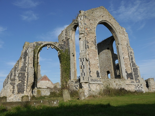 Covehithe church by ninpo135