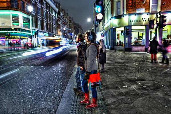 Shaftesbury Avenue by Anatoleya