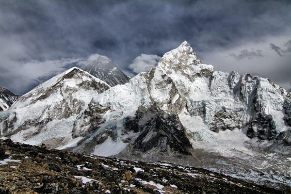 Nuptse...Everest...Lotse... by grahamab