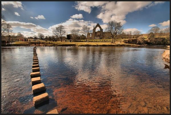 Bolton Abbey by fredhud