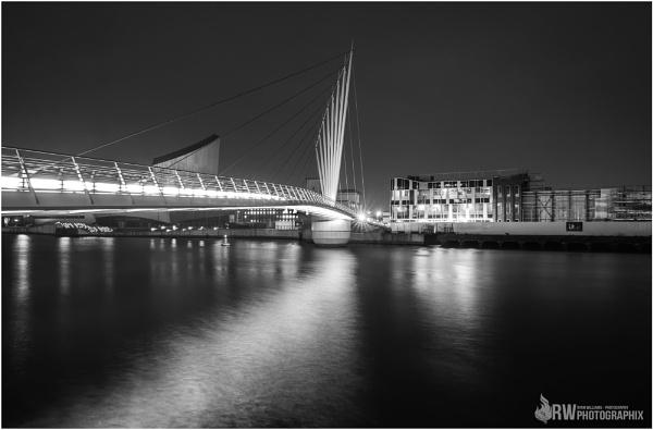Media City Bridge by RWPhotoGraphix