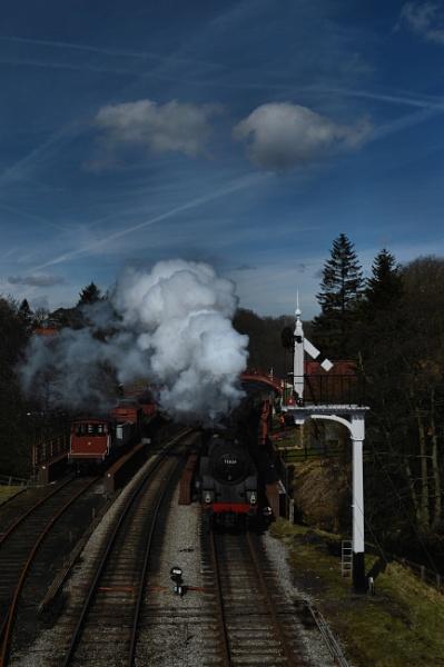Full Steam Ahead At Goathland by stephenscott