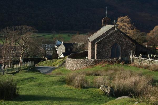 Buttermere Church by Juditha