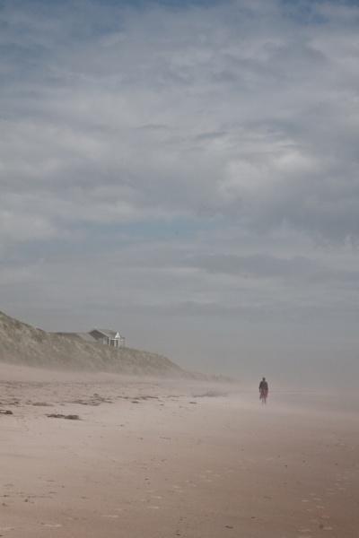 The beach at Embleton by Juditha