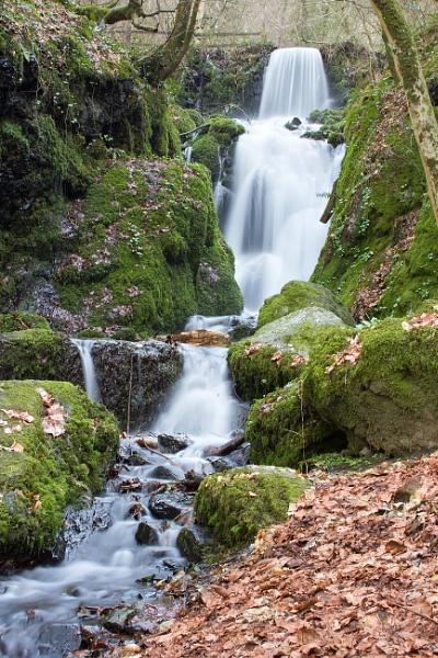 Canonteign falls by Diyena
