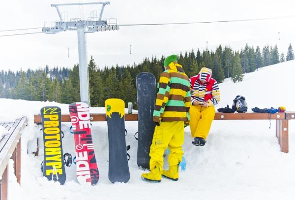 I am ski wonderland by AEA
