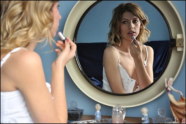Nicole in the Mirror. by Irish_Rover