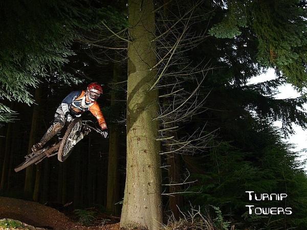 Mountain biker by turniptowers