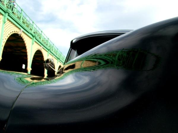 Arches on car by Garay