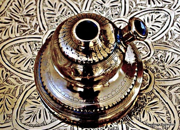 Hookah on a Brass Tray by Jeremy_Smith