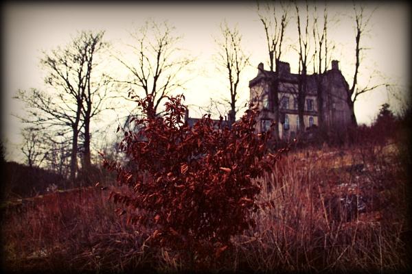 Delgaty Castle by lynzdunk
