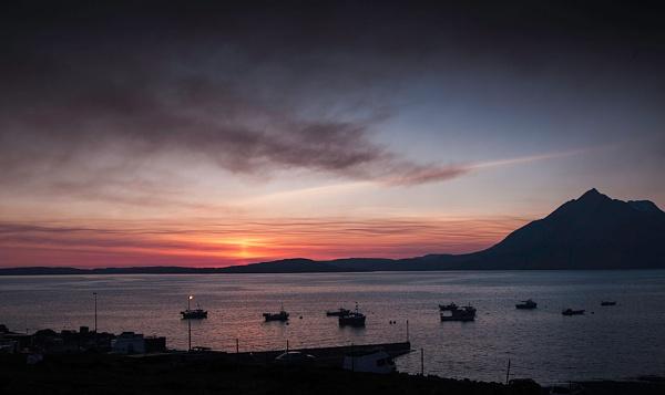 Smoky sunset... by Scottishlandscapes