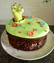 Zombie Garden Cake by RachelMB