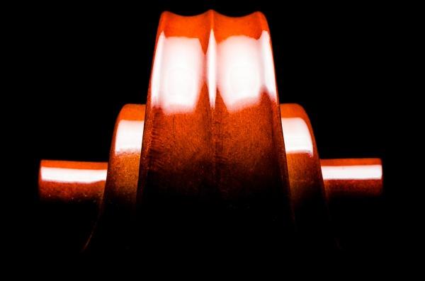 Cello Scroll 2 by TrevorB