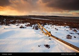 Stanage Snow