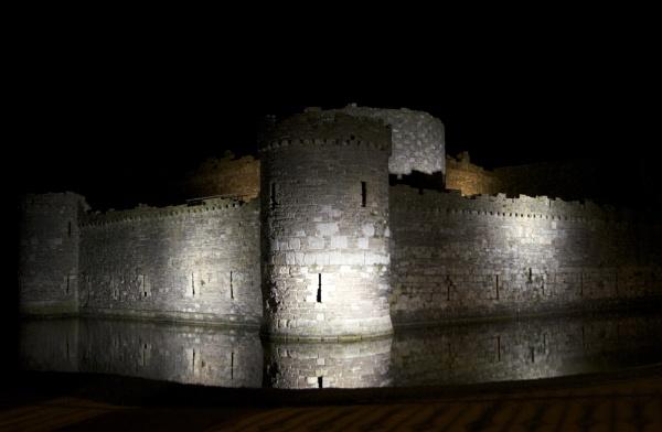 Beaumaris Castle by DilysT
