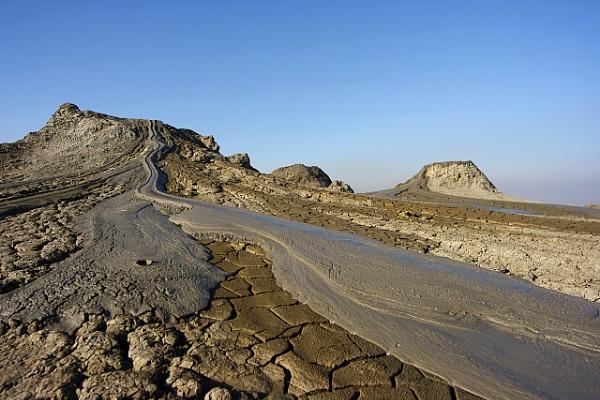 Mud Volcanos by kmeric