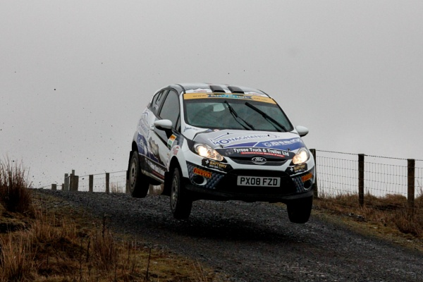 Jon Armstrong\'s Fiesta R2 ready for the British Rally Championship by Stevies