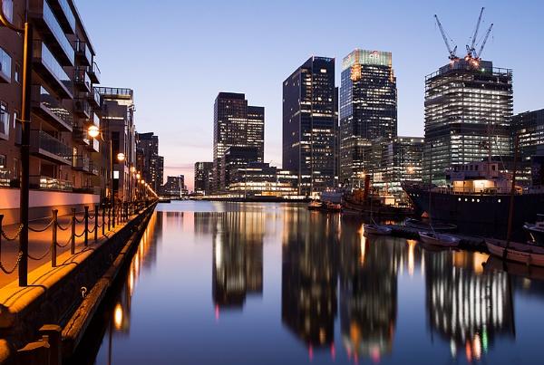 Canary Wharf London by RobDem