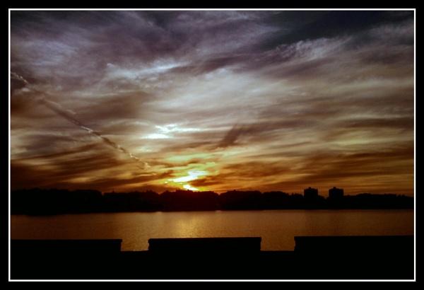 Smartphone Challenge 2 - Sunset over Bugibba by alistairfarrugia